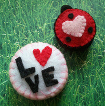 Love Bug Magnets!