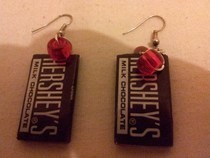 Hershey Earrings!