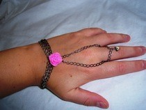 Bracelet With A Pink Touch