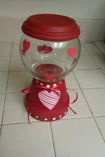 "Valentine ""Gumball Machine"""