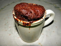 5 Minute Microwave Mug Brownies