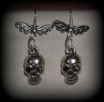 Fairy Skull Earrings