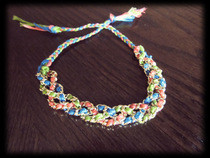 Friendship Chain Bracelet Tutorial