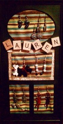 Make Your Own Earring Holder