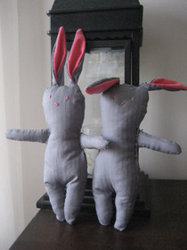 Martha Stewart Menswear Bunnies