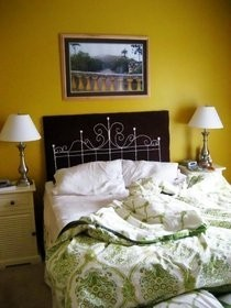Embroidered Headboard