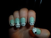 Panda Nails!!