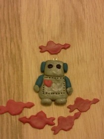 Vale The Tiny Valentine Robot