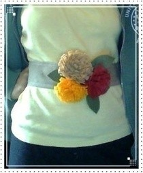 Autumn Bloom Belt Inspiration =)