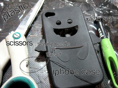 How to make a card carrier. I Phone Case To Id Case - Step 1