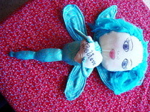 Dragonfly Art Doll