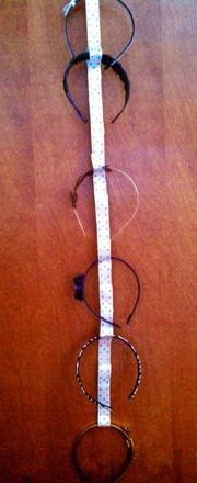 Make Your Own Headband Holder