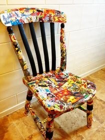 Bespoke Marvel Chair