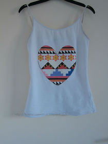 Tribal  Heart Tanktop