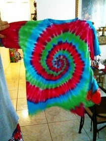 Tye Die T Shirts!