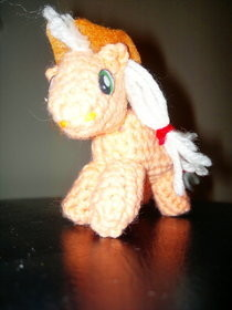 Mlp:Fim Crochet   Apple Jack