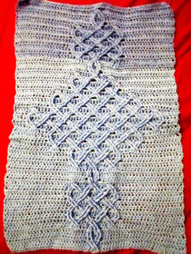Knitter's Review Forums - NickyEpsteins Celtic Knot afghan free