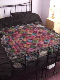 Moorland Crochet Throw