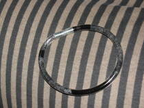 Faux Glass Bangle