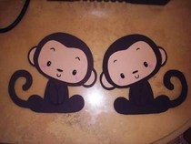 Foamie Decor For Anything U Want (Monkey Version)