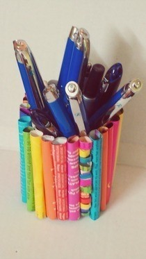 Colorful Pencil Holder