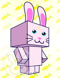 Luna Bunny Cubee