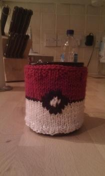Pokemon Mug Cozy