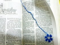 Lil Flower Bookmark