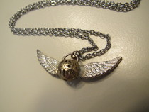 Golden Snitch Charm Necklace!