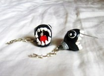 Chomp (Mario) Earrings