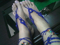 Violet Barefoot Crochet