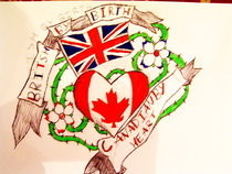 The Tattoo I Designed That The Guy Got Tattooed!! :D