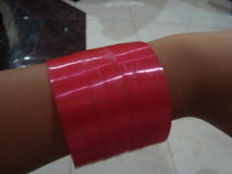 Plastic Bottle Ribbon Bracelet