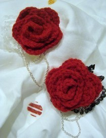 More Rose Brooches