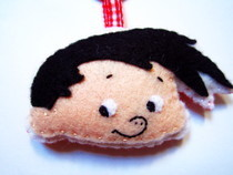 Felt Keychain   Bobby's World