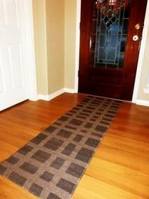 Painted Runner Rug