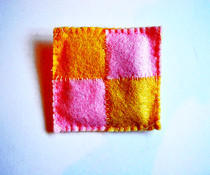 Battenburg Brooch