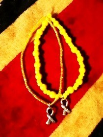 Endometriosis Awareness Bracelets