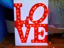 Illuminated Love On Canvas Hilarious!!!!