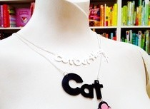 Cricut Name Necklace