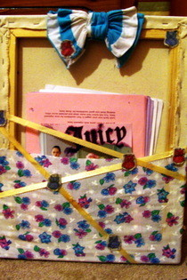 Canvas Letter Holder