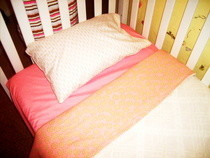 Girly Toddler Bedding Set