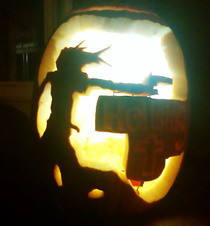 Alucard/Hellsing Pumpkin