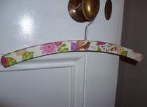 Decorated Coat Hanger