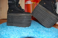 How to make sneakers. Crazy Platform Shoes! - Step 6