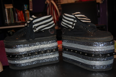 How to make a shoe. Crazy Platform Shoes! - Step 8