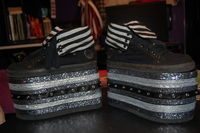 How to make sneakers. Crazy Platform Shoes! - Step 8