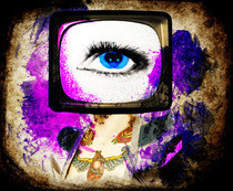 Tv Eye Photo