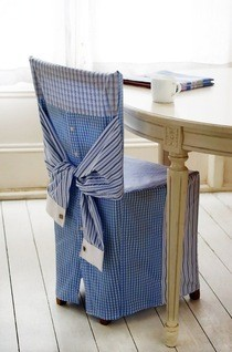 Shirt Chair Cover