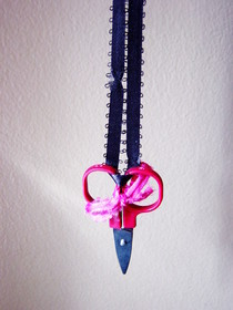 Scissor Necklaces